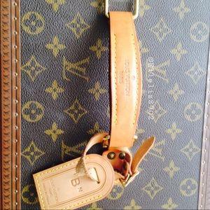 Louis Vuitton travel cases